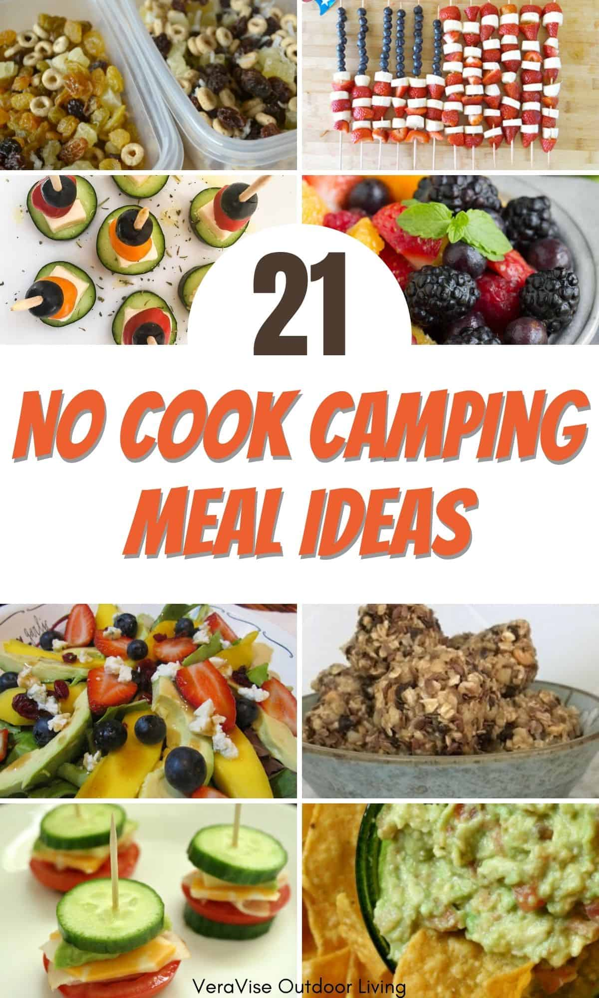 no cook camping meal ideas