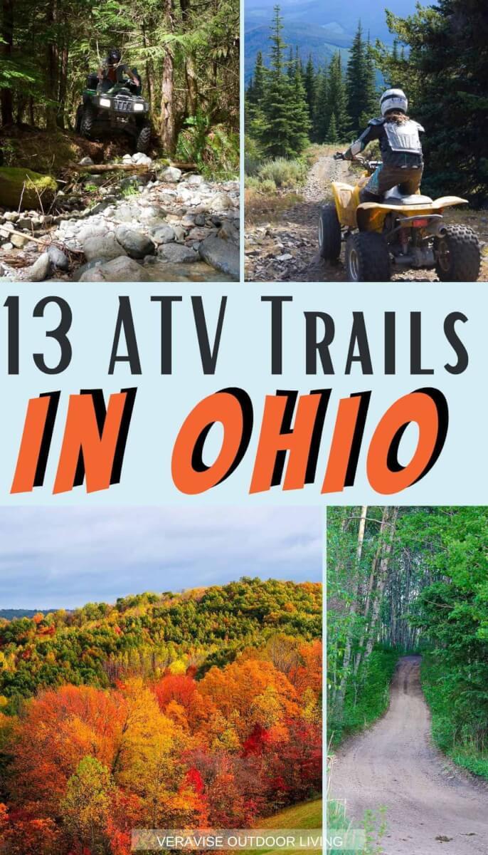 atv trails in Ohio