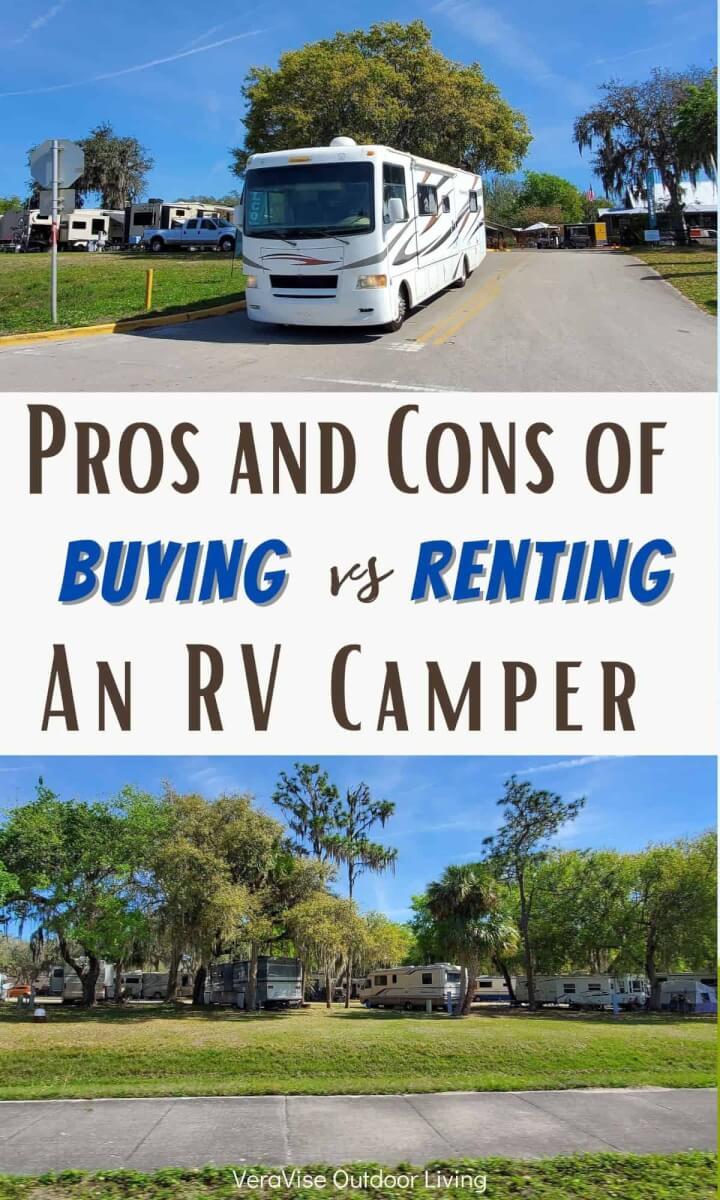 buying an rv camper