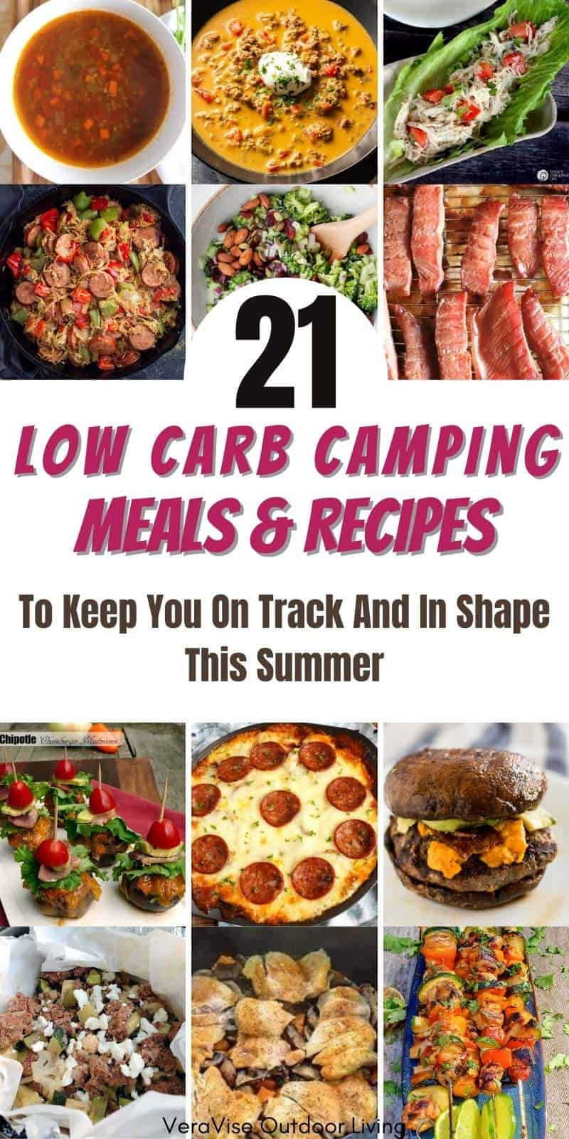 low carb camping meals
