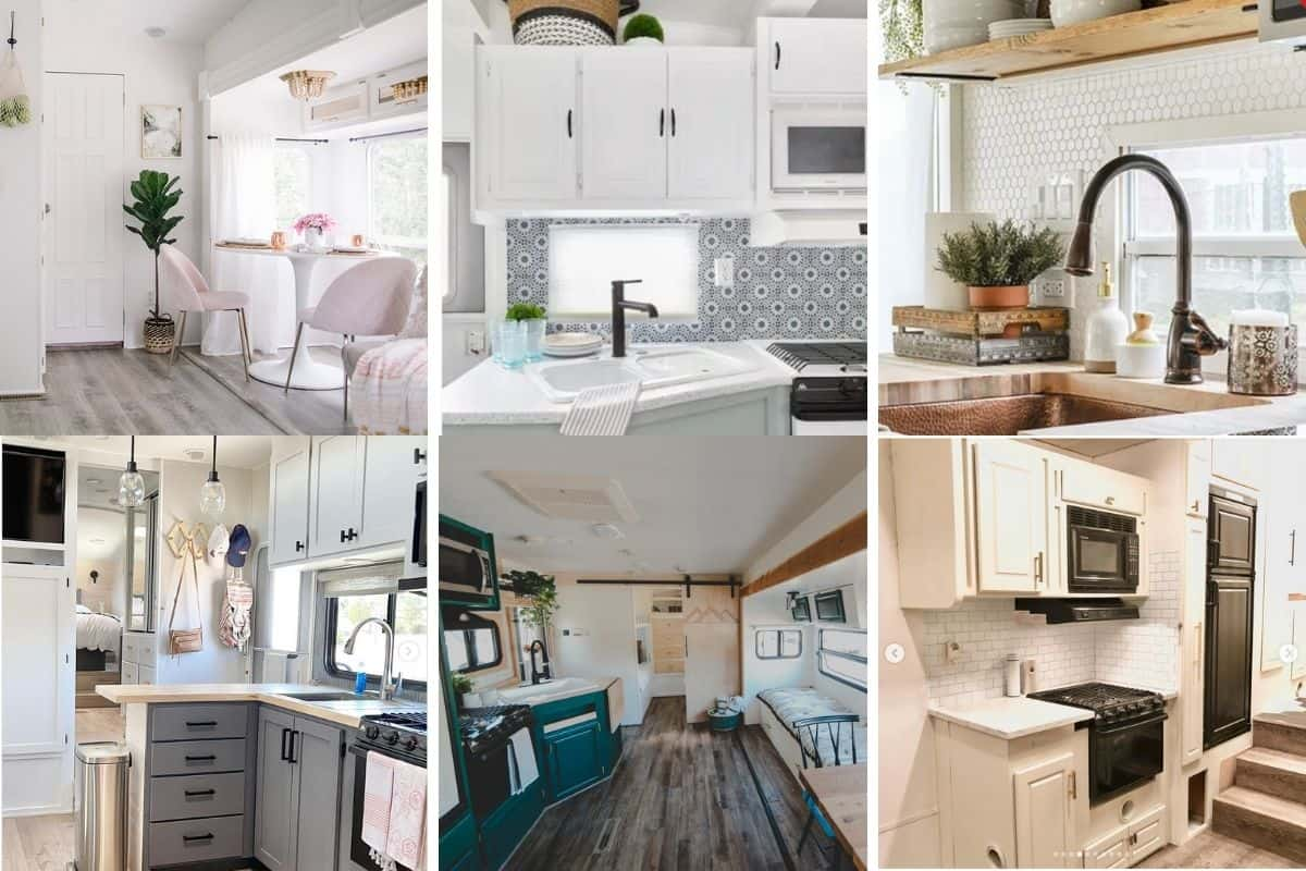 before and after rv remodels