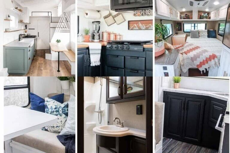 The Ridiculous Really Big Huge List of RV Remodel Ideas to Refresh Your RV Camper