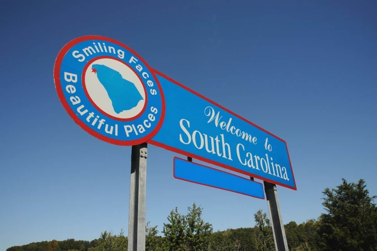 South Carolina campgrounds