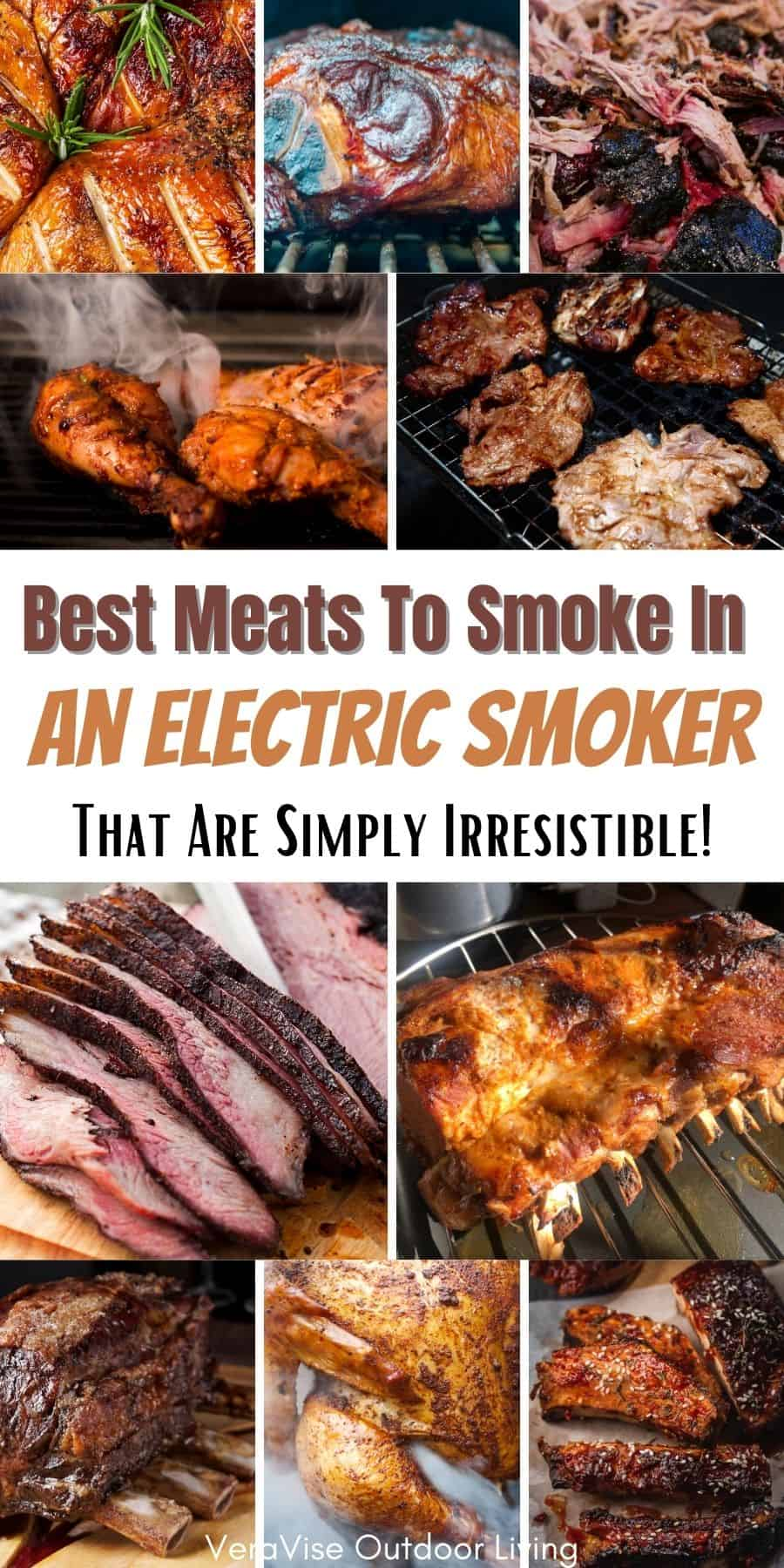 best meat to smoke in an electric smoker