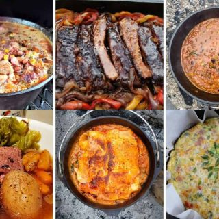 dutch oven camping meals ideas