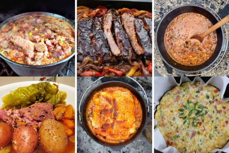 You asked and we answered:  Here are 14 MORE Dutch Oven Campfire Meals You are going to love!