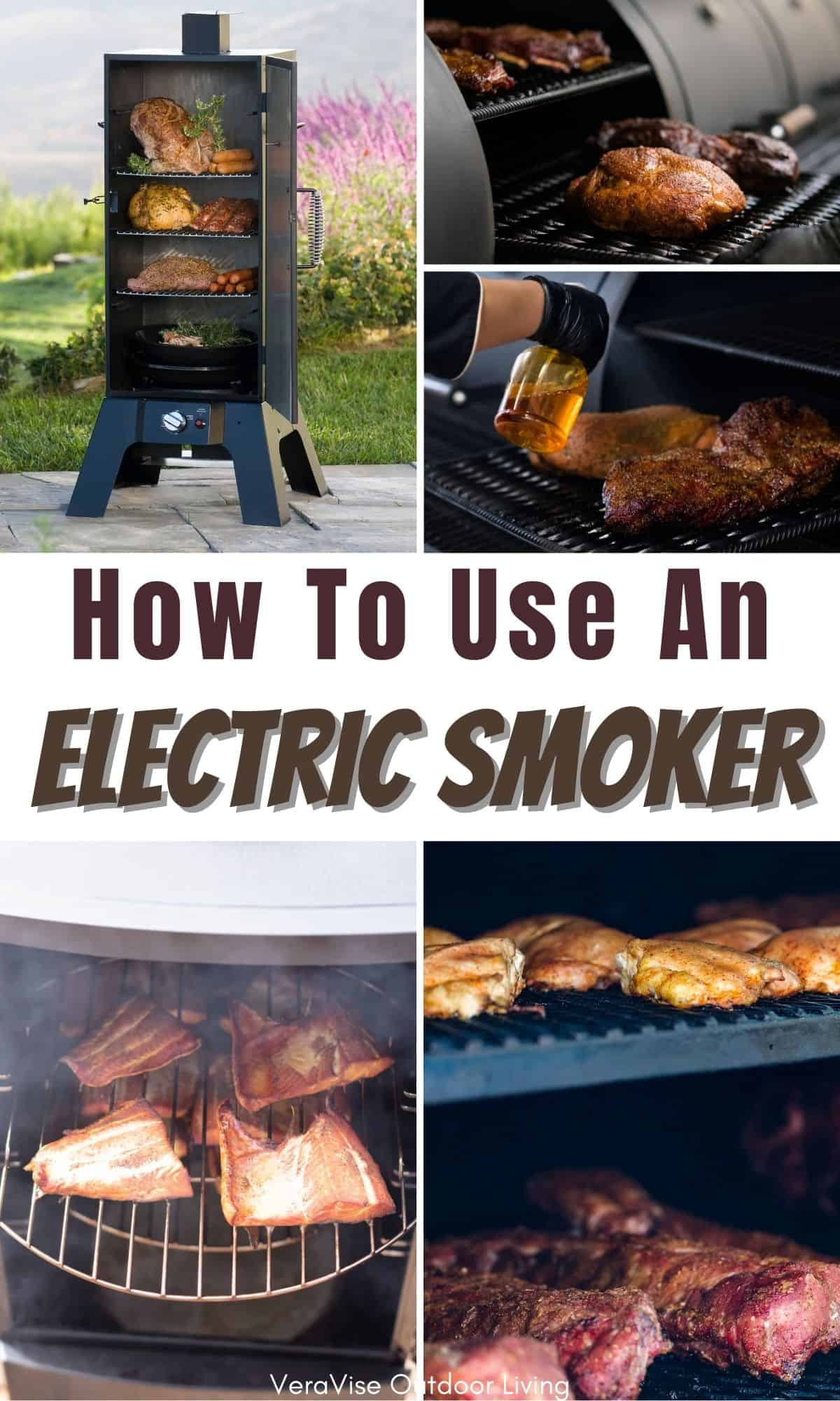 how to use electric smoker