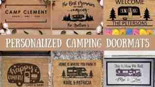 camping doormats