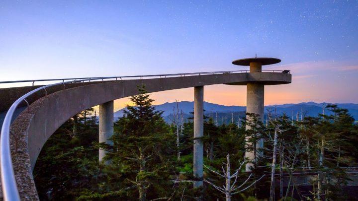 Clingmans Dome Smoky Mountains