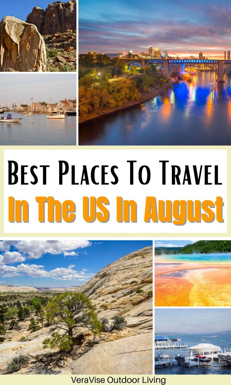Best Places To Travel In The US In August