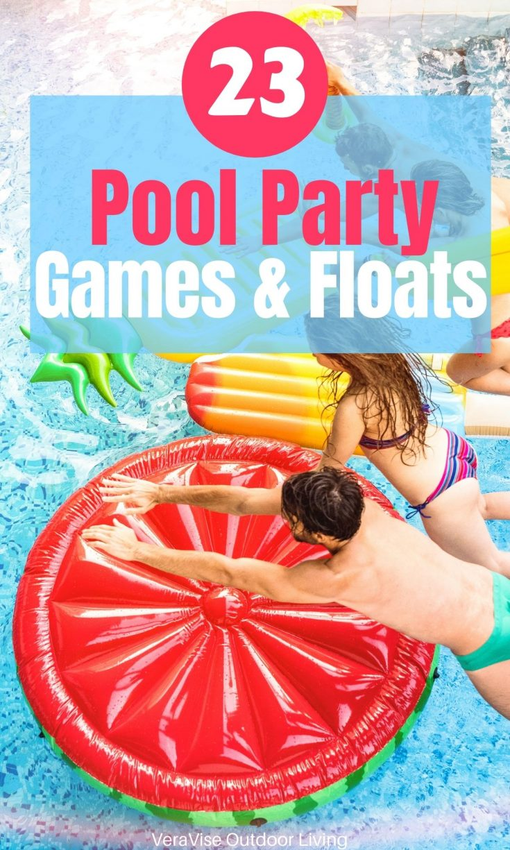 pool party games & floats
