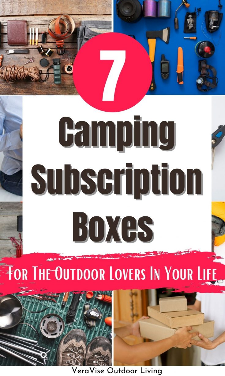 camping subscription boxes