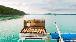best pontoon boat grills