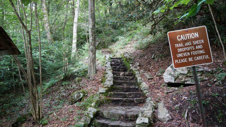 backbone rock stairs
