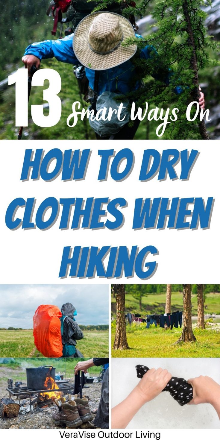 How To Dry Clothes When hiking