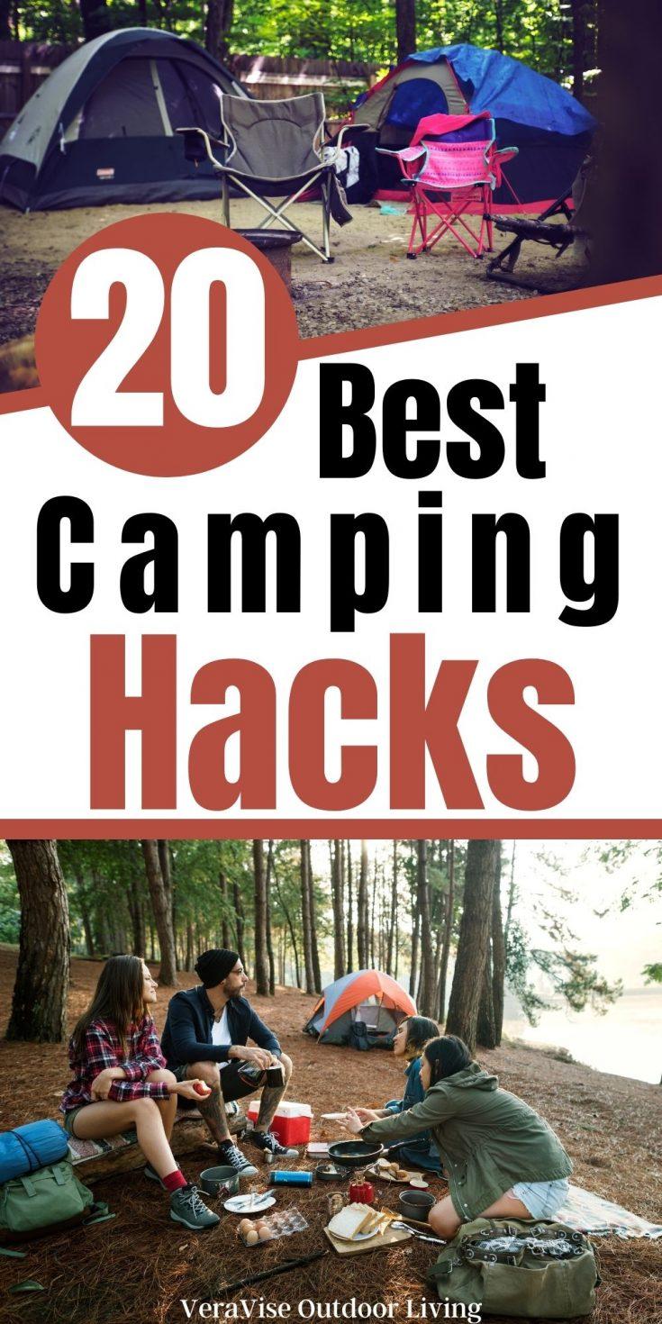 20 best camping Hacks