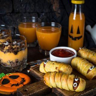 Halloween Camping food