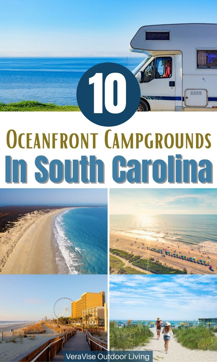 Oceanfront campgrounds in South Carolina