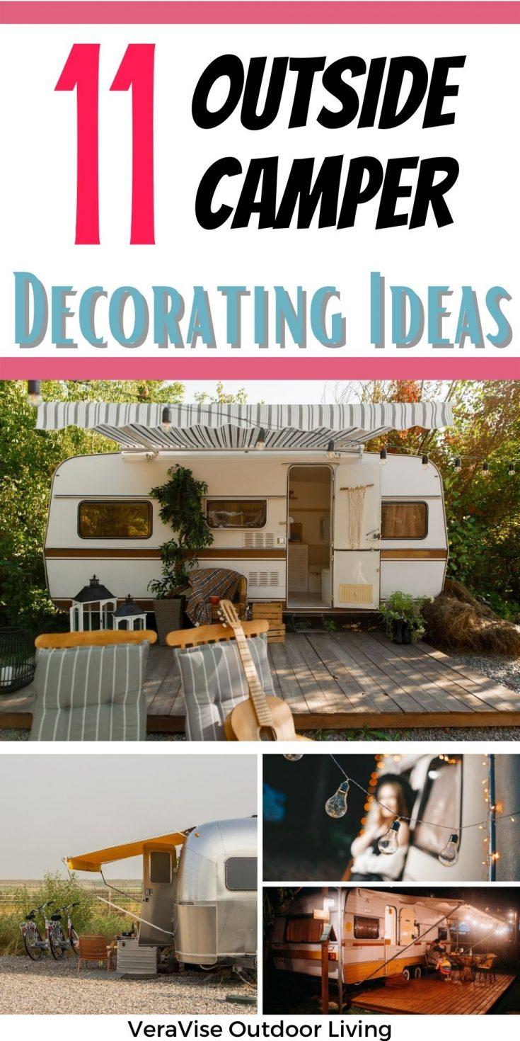 outdoor camper decorating ideas