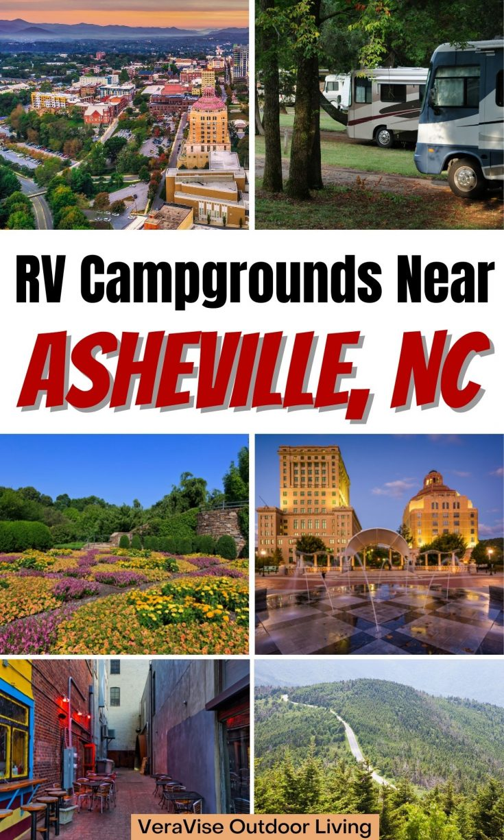 RV campgrounds near Asheville NC