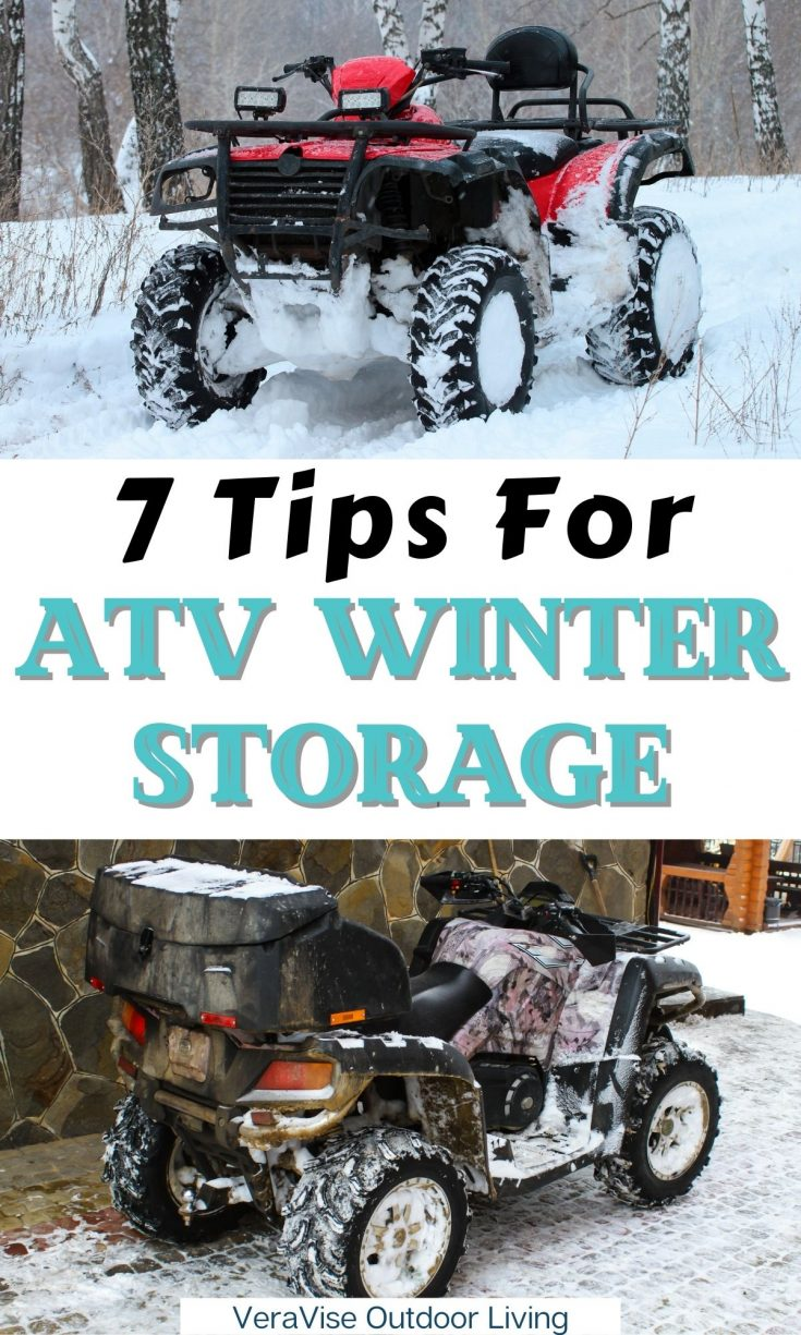 ATV winter Storage