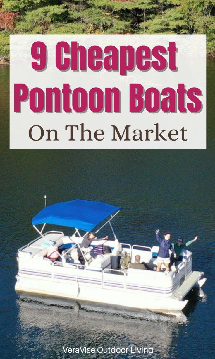 cheapest pontoon boats