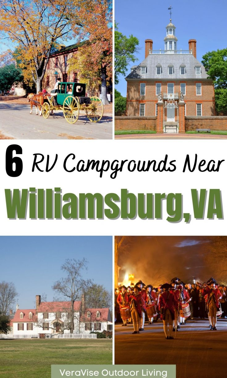 Williamsburg campgrounds