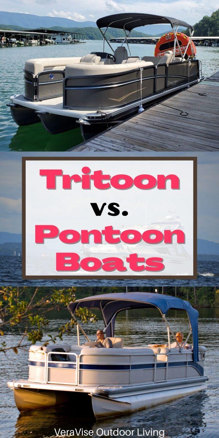 tritoon vs pontoon