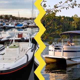 deck vs pontoon