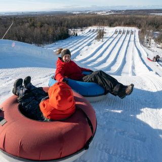 Snow tubing in NC