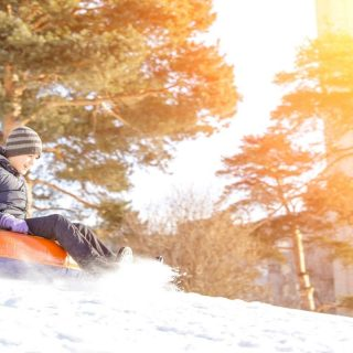 Snow Tubing in Pigeon Forge
