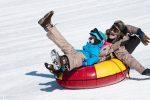 Snow tubing in Virginia