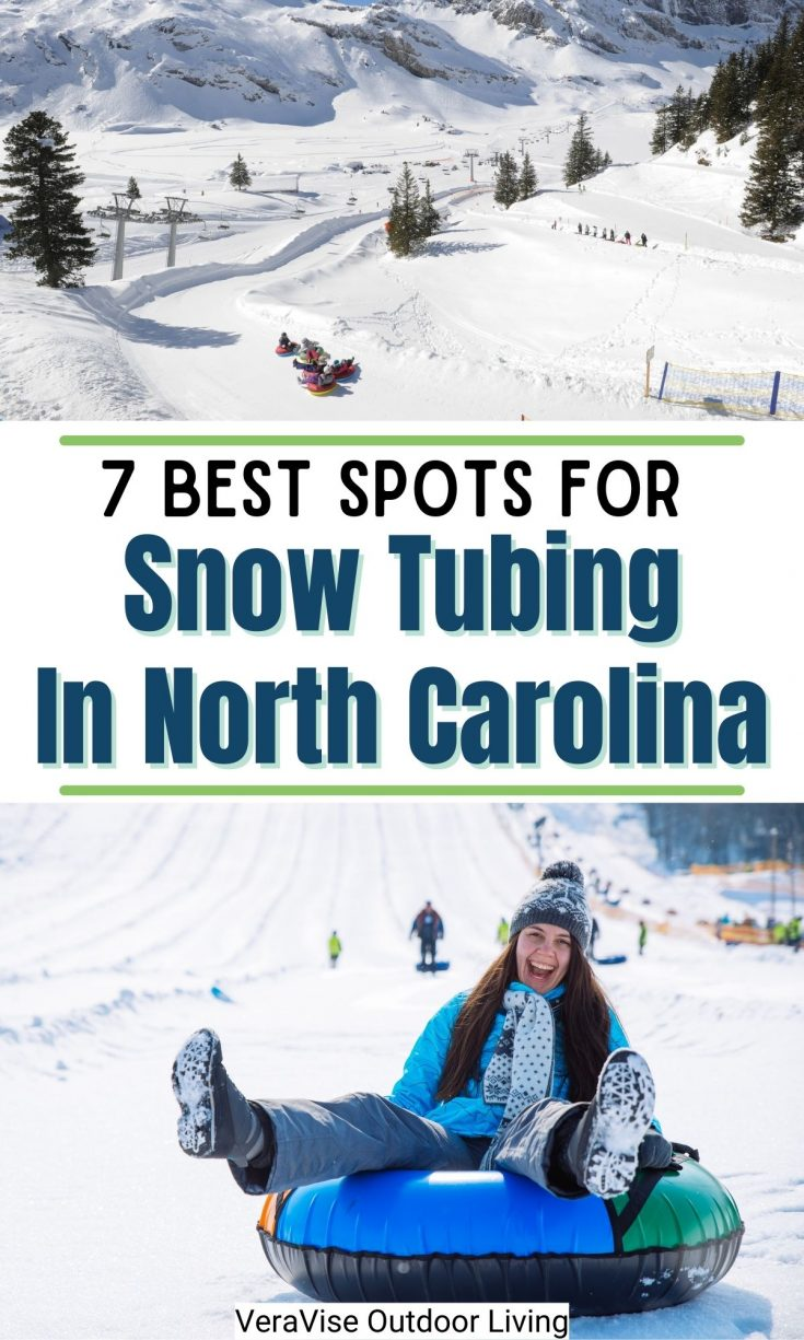 Snow tubing in North Carolina